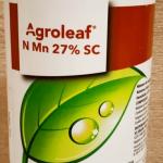 AGROLEAF Mn 27 SC